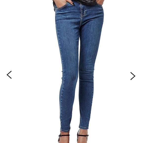 Topshop Moto Jamie Jeans 28×32